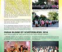 Farah Blohm ist Schützenliesel 2014