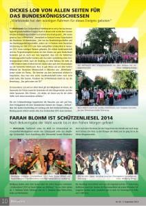 Der Wiefelsteder, Nr. 9 vom 3.09.2014, Seite 10