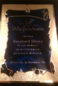 Ehrenplakette