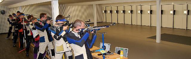 Schützenhalle Schießstand