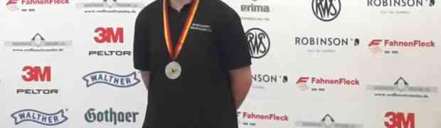 Rene Wempen holt DM 2015 Silber !