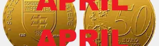 50 Cent Münze zum Jubiläum