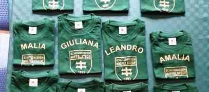 T-Shirts für die kleinsten Schützen fertig